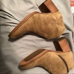 Frye Nora suede studded bootie